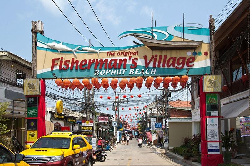 Village de pecheurs Thaïlande