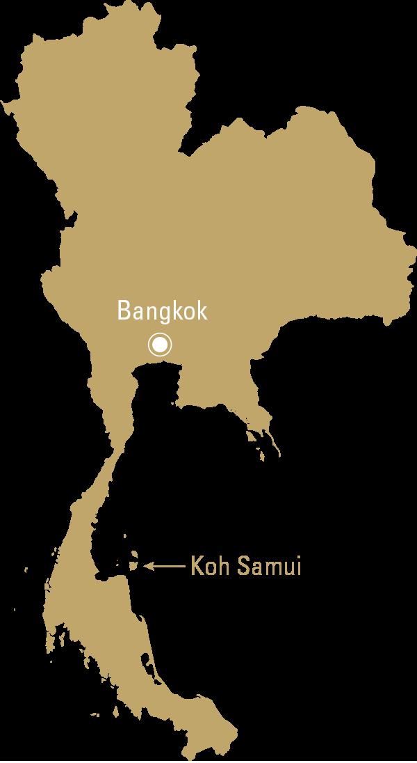 Carte Koh Samui